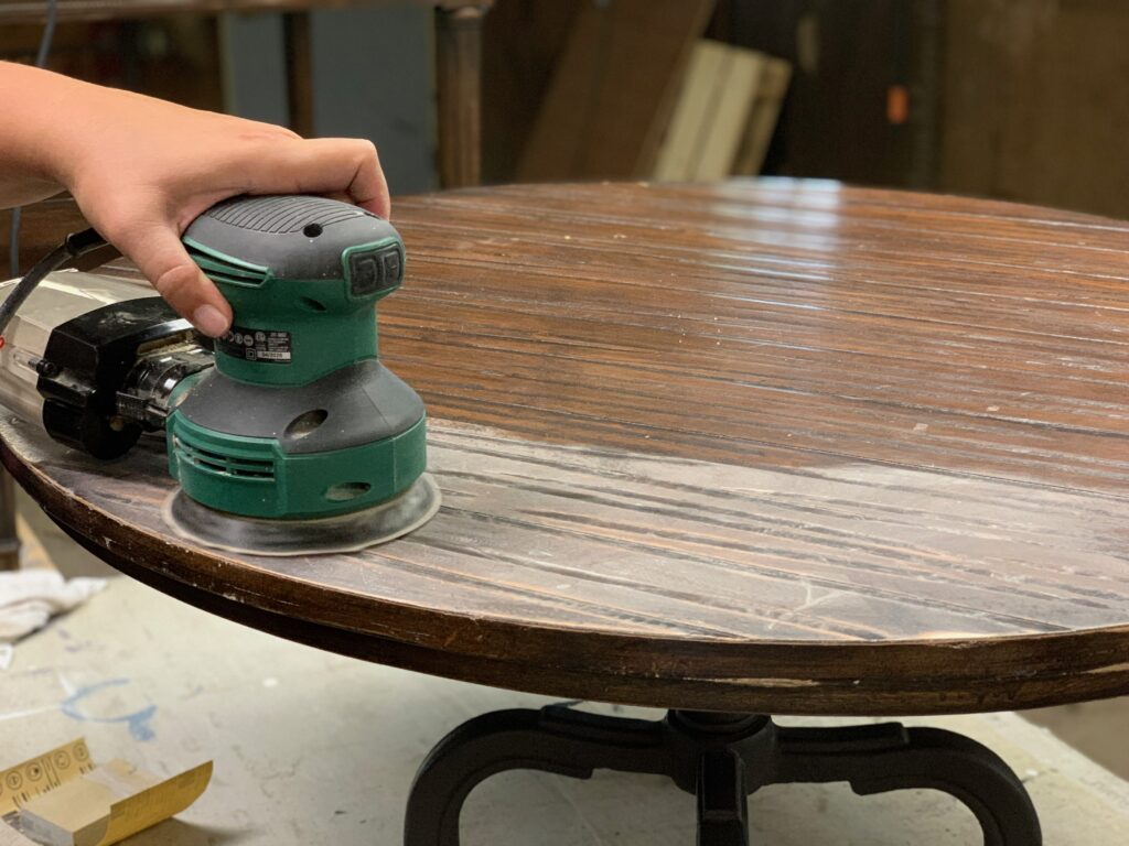 Thrifty Farmhouse Table Restoration